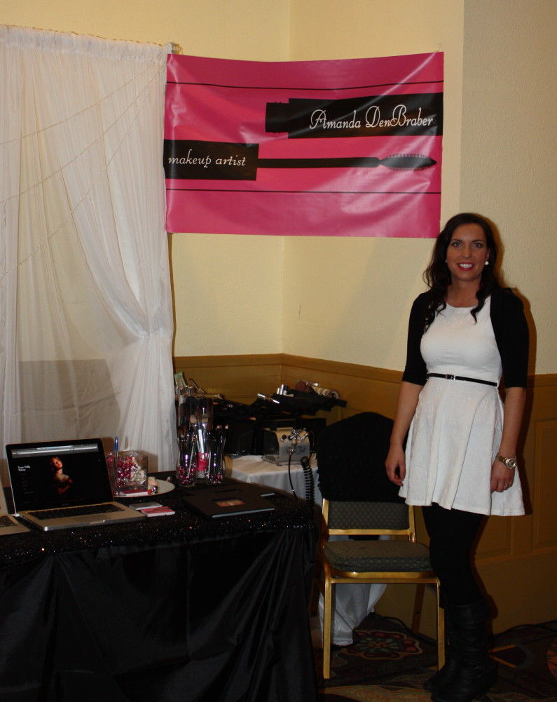 Wedding Show Makeup Artist Amanda DenBraber