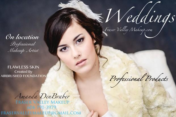 Chilliwack Wedding Day Bridal Makeup
