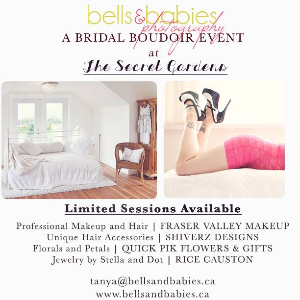 Bridal Boudoir Sessions Chilliwack