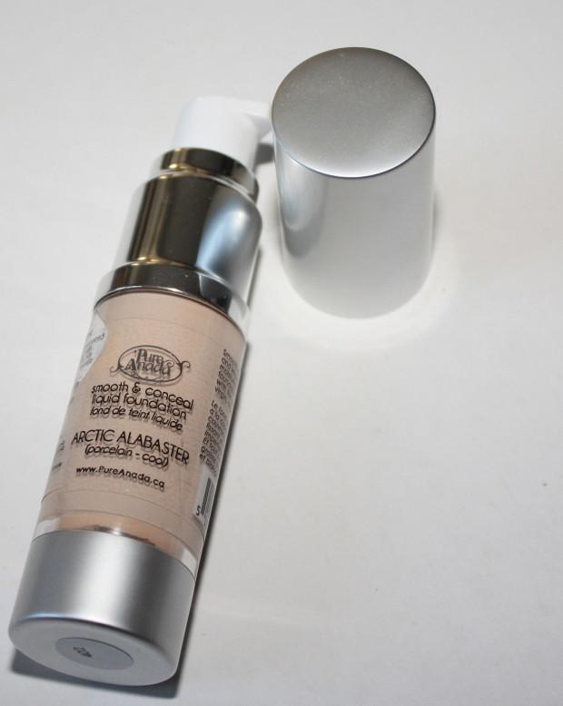 Pure Anada Foundation review Makeup