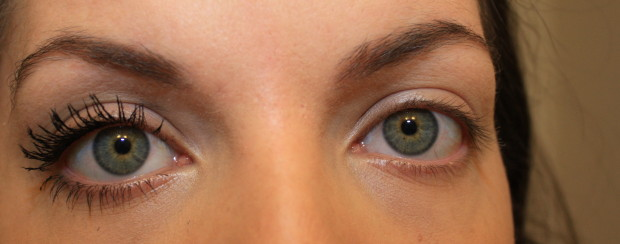 3D mascara Before and After