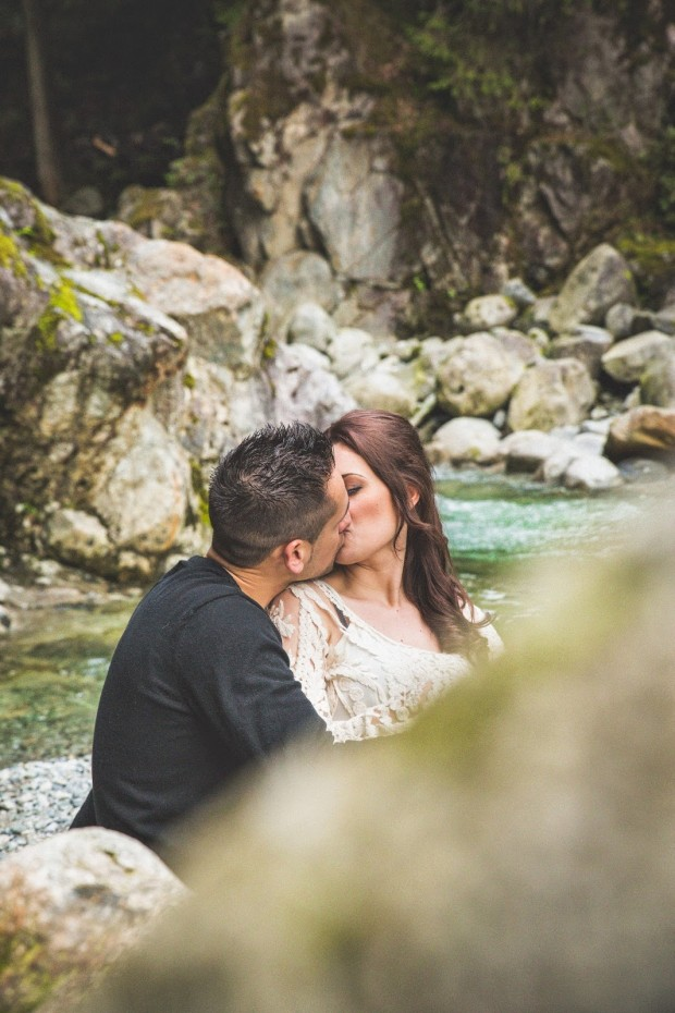 Riverside Event and Parties Cascade Falls Engagement session
