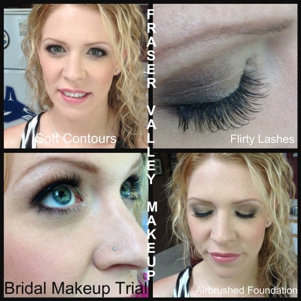 Bridal Makeup Trial Fraser Valley