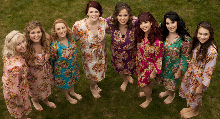 Bridesmaids makeup chilliwack