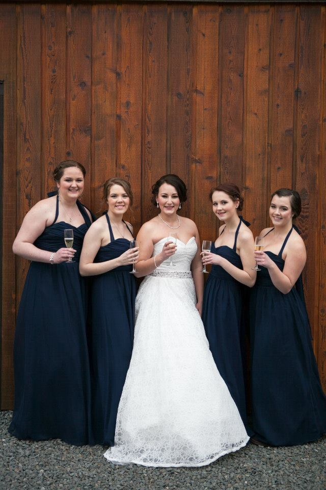 hair and makeup wedding party chilliwack