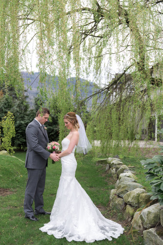wedding day hair stylist chilliwack