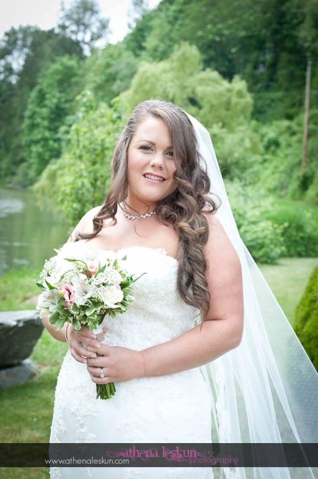 bridal wedding day makeup abbotsford