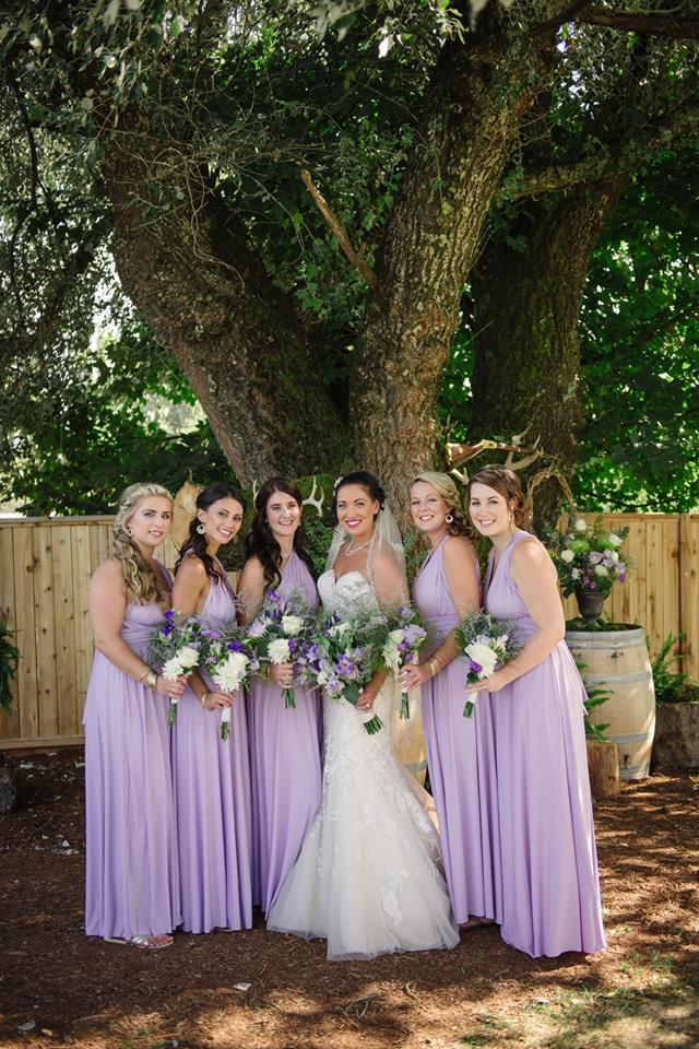 bridal party makeup and hair team chilliwack