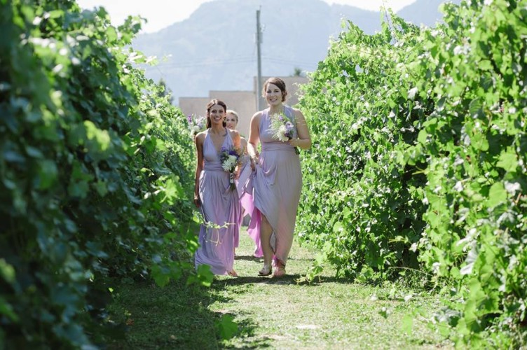 bridesmaids purple dresses chilliwack
