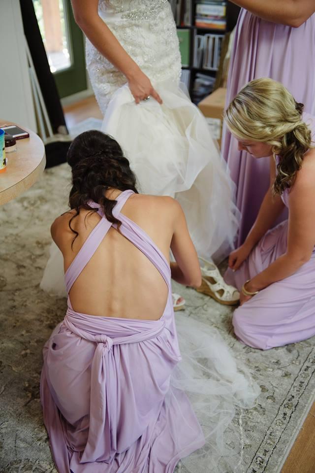 hair stylist wedding day chilliwack