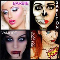 halloween makeup and hair artist chilliwack