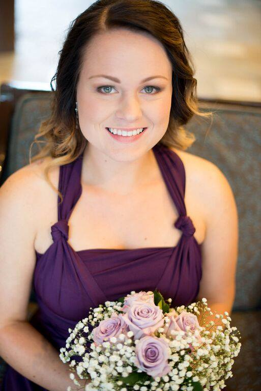 harrison hot springs bridesmaid makeup