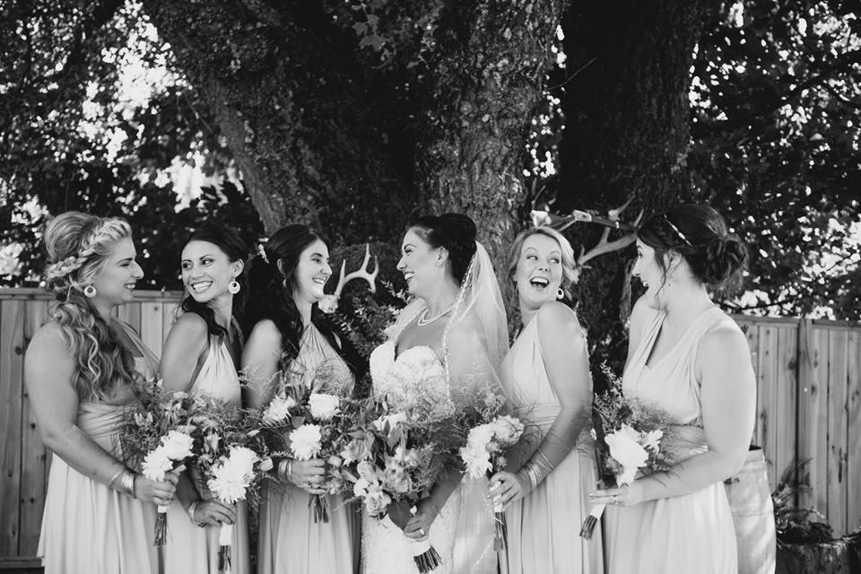 makeup and hair bridesmaids