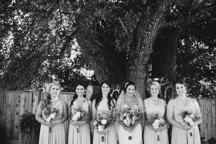 wedding day makeup and hair team abbotsford