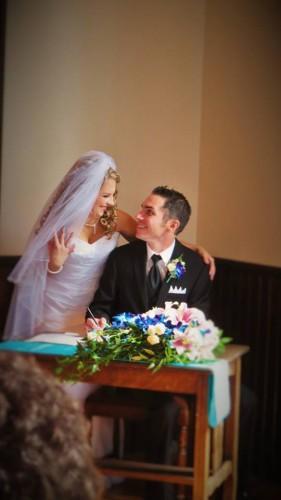 Little white wedding chapel Greendale
