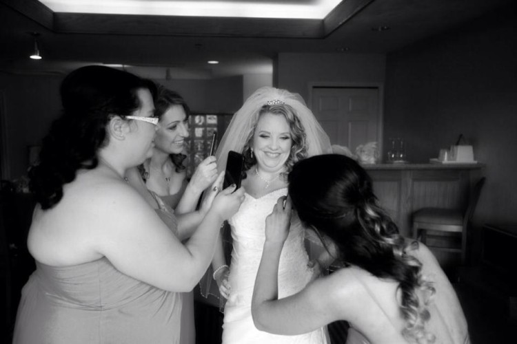 bridal party makeup and hair chilliwack