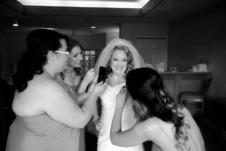 bridal party makeup and hair chilliwack