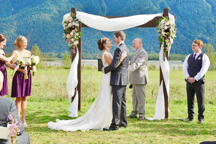agassiz wedding location
