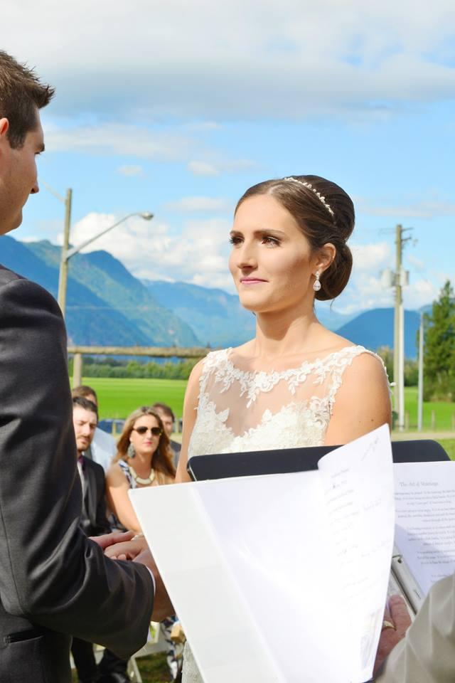 bridal chignon hair stylist chilliwack