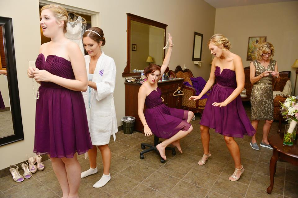 bridal party makeup and hair team agassiz