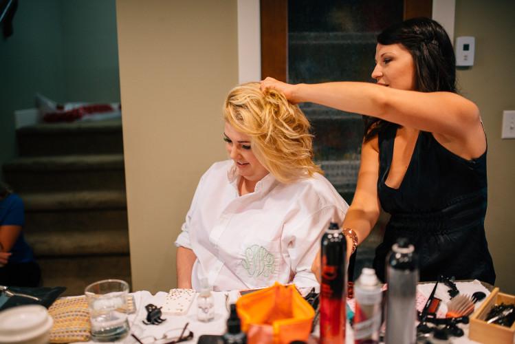 fraser valley makeup wedding hair