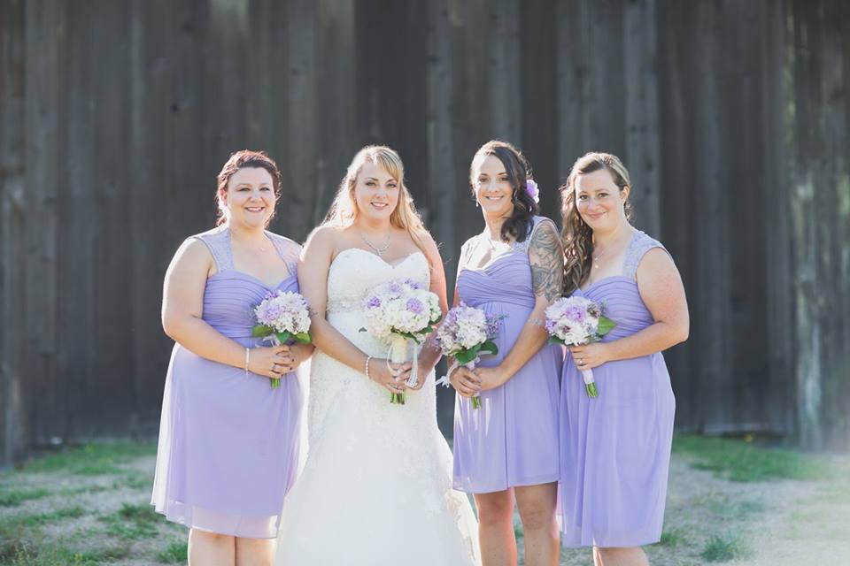 purple bridesmaids dresses langley bc