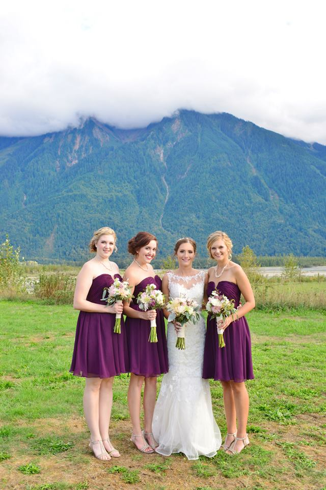 wedding day makeup team agassiz