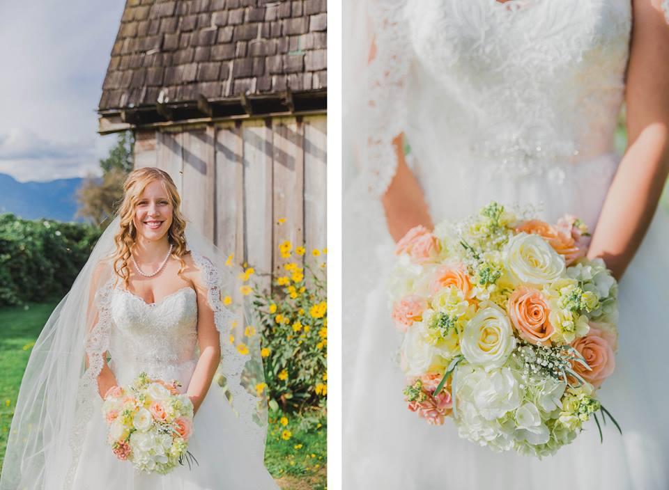 wedding flower makeup artist