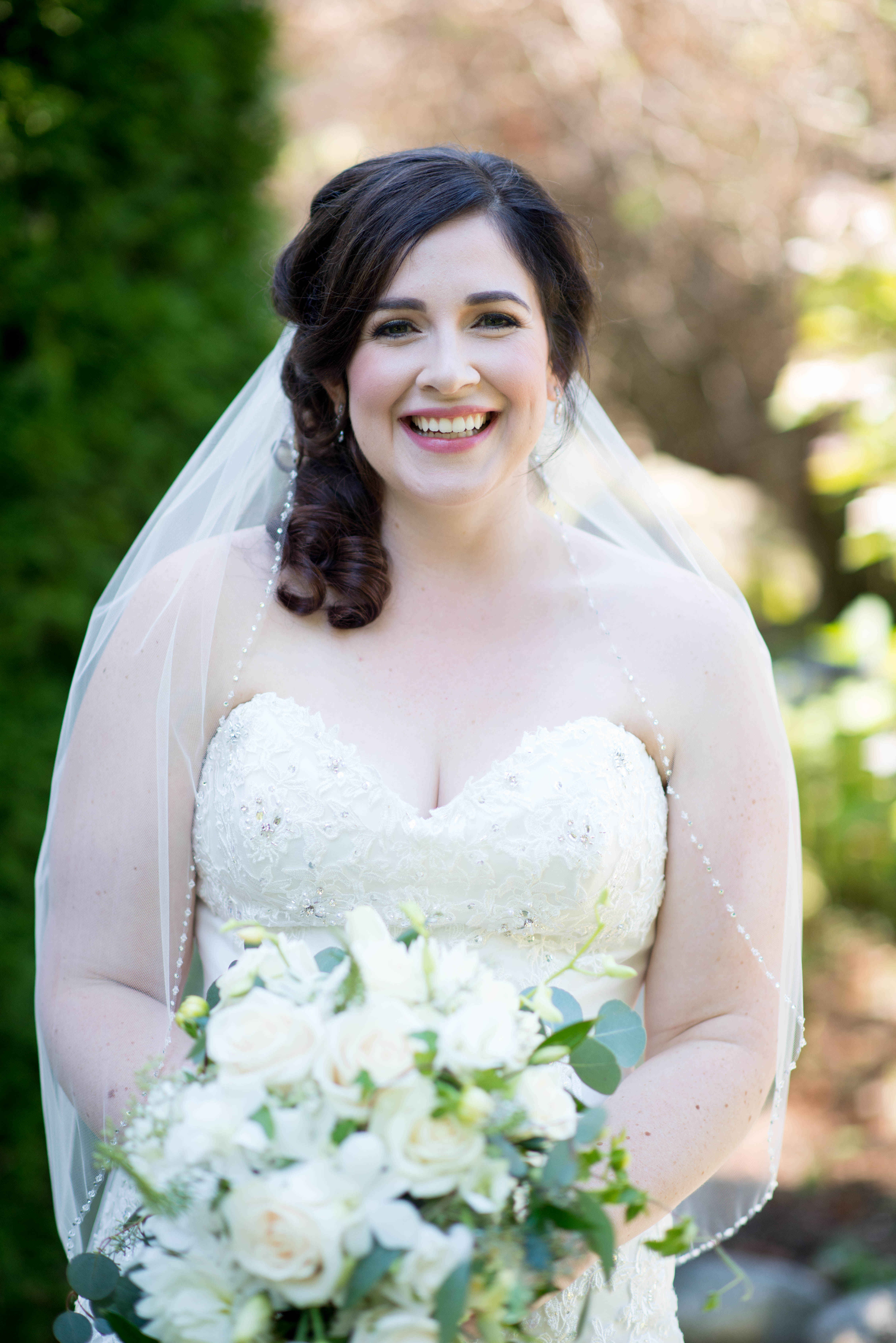 Dream Wedding With Joanna At Dover Hall Lou Stevens Bridal Hair How Much Tip For Wedding Hair
