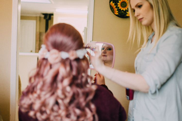 bridal hair chilliwack