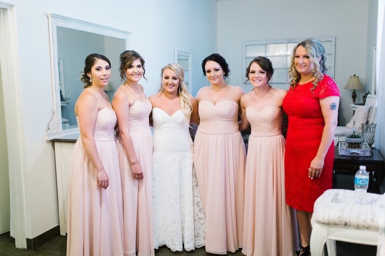 bridesmaid makeup and hair